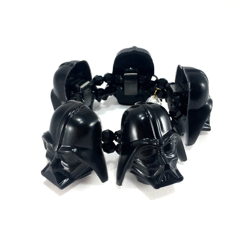 Darth Vader Helmet Stretch Bracelet