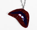 Rocky Horror Picture Show Lips necklace