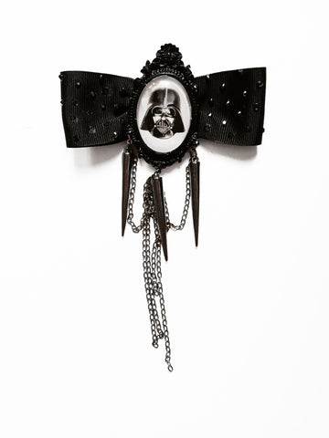 Fancy Darth Vader hair bow