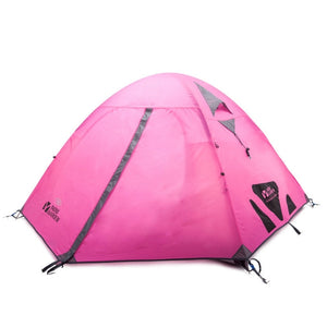 Tente 2 places Mobi Garden Cold Mountain 2 AIR - Tente de couleur rose