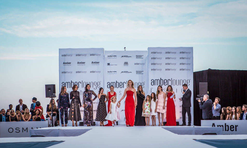 Amber Lounge Monaco Teams up with British Fashion Designer SAFiYAA to Kick-Off 2017 Monaco Grand Prix Weekend