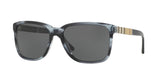 Burberry Men's BE4181 Sunglasses 3610/87 blue/ grey tortoise