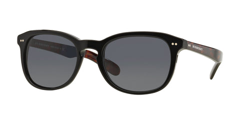 Burberry Mens BE4214 sunglasses black fram - tortois arms
