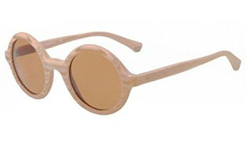 Emporio Armani EA4011 Sunglasses-509573 Wood Matte Beige (Brown Lens)-45mm