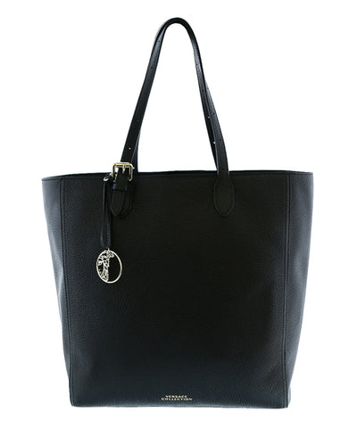 Versace Collection - Black Leather Tote