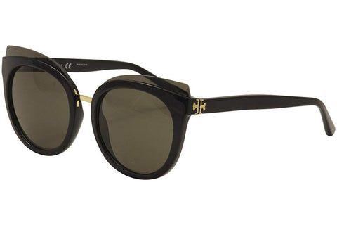 Tory Burch Womens 0TY9049 53mm sunglasses Black cateye