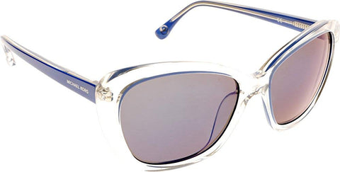 Michael Kors Women's Sabrina Sunglasses, Purple/Blue M2903S