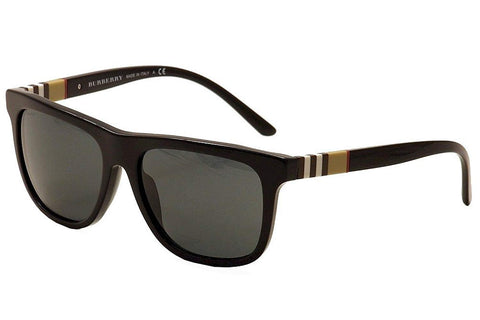 Burberry Men's BE4201 black sunglasses polarizeed