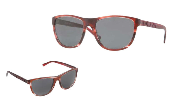 Dkny DY4103 3581/87 Spotted Bordeaux/Grey Gradient Sunglasses