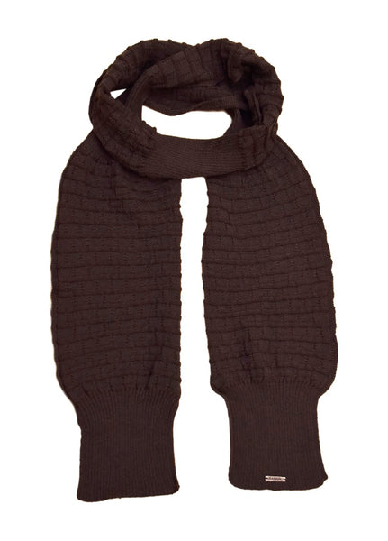 Diesel Women's Goldon Scarf Charcoal, One Size