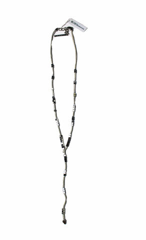 BCBGeneration Suede and Silver-Tone Necklace