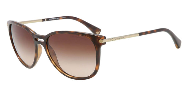 Emporio Armani 4006 502613 Tortoise 4006 Cats Eyes Sunglasses Lens Category 3