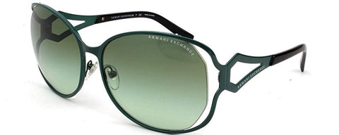 Armani Exchange AX2009S Sunglasses-60358E Alpine Green (Green Gradient)-59mm