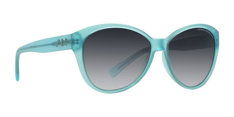 Armani Exchange Butterfly Sunglasses - Turquoise & Blue AX4006