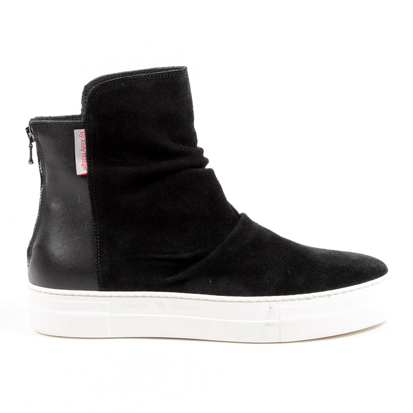 Andrew Charles Mens Ankle Boot Black JON
