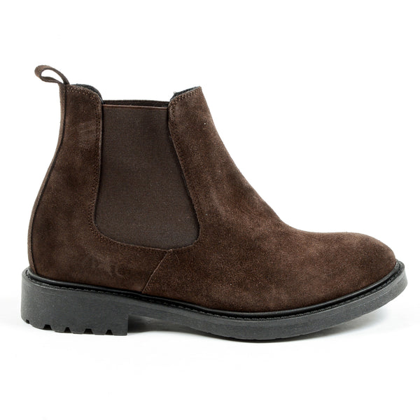 Andrew Charles Mens Ankle Boot Brown KID