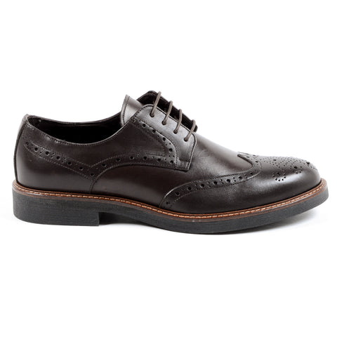 Andrew Charles Mens Brogue Shoe Brown IGGY