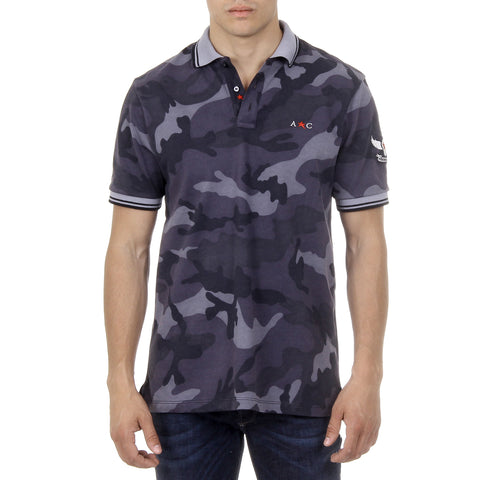 Andrew Charles Mens Polo Short Sleeves Multicolor STEVE
