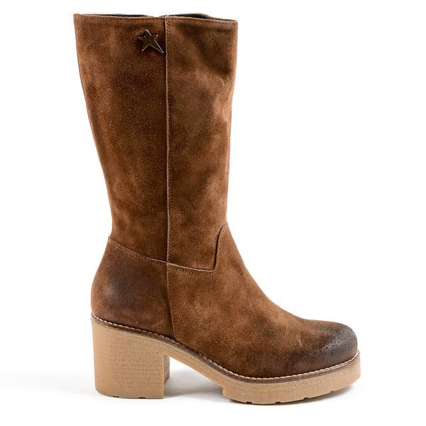 Andrew Charles Womens Boot Brown LITA