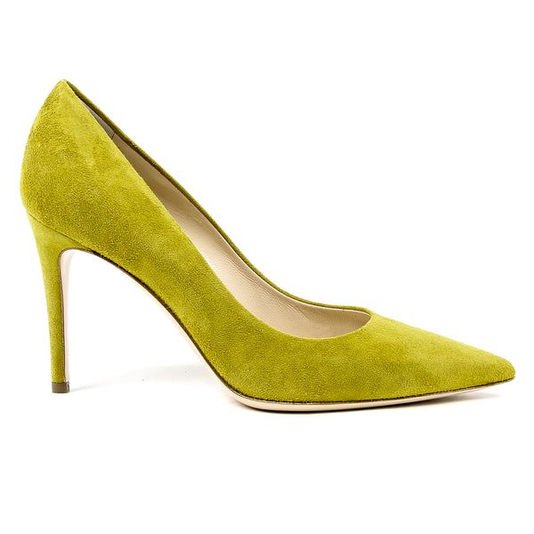 Andrew Charles Womens Pump Green MIA