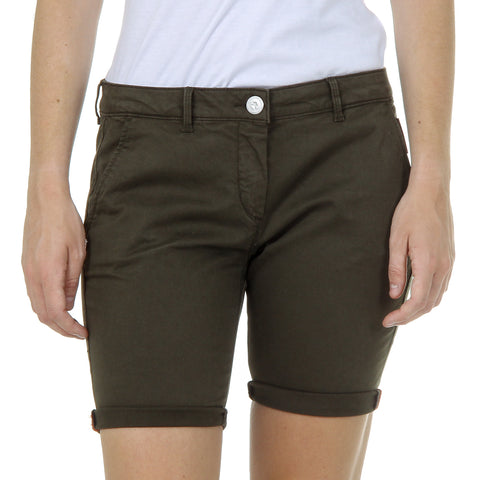 Andrew Charles Womens Shorts Green SAFIA