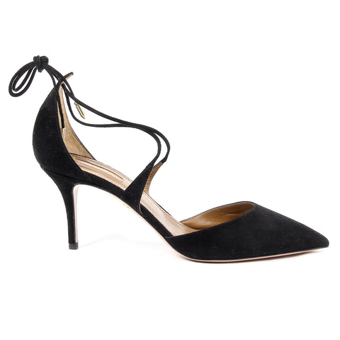 Aquazzura Firenze Womens Sandal MATILDE 75 BLACK