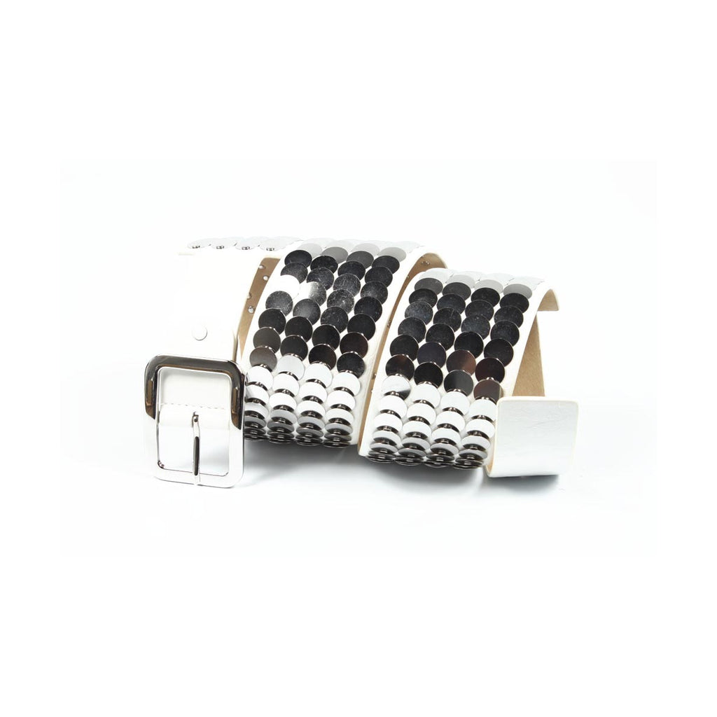 Cafenoir Women Belts White - LeCITY