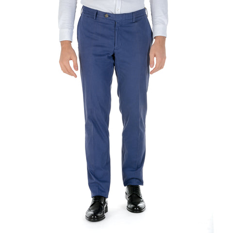 Canali Mens Pants Blue