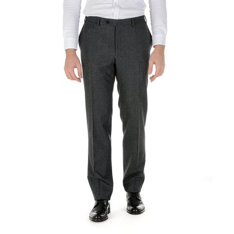 Canali Mens Pants Dark Grey