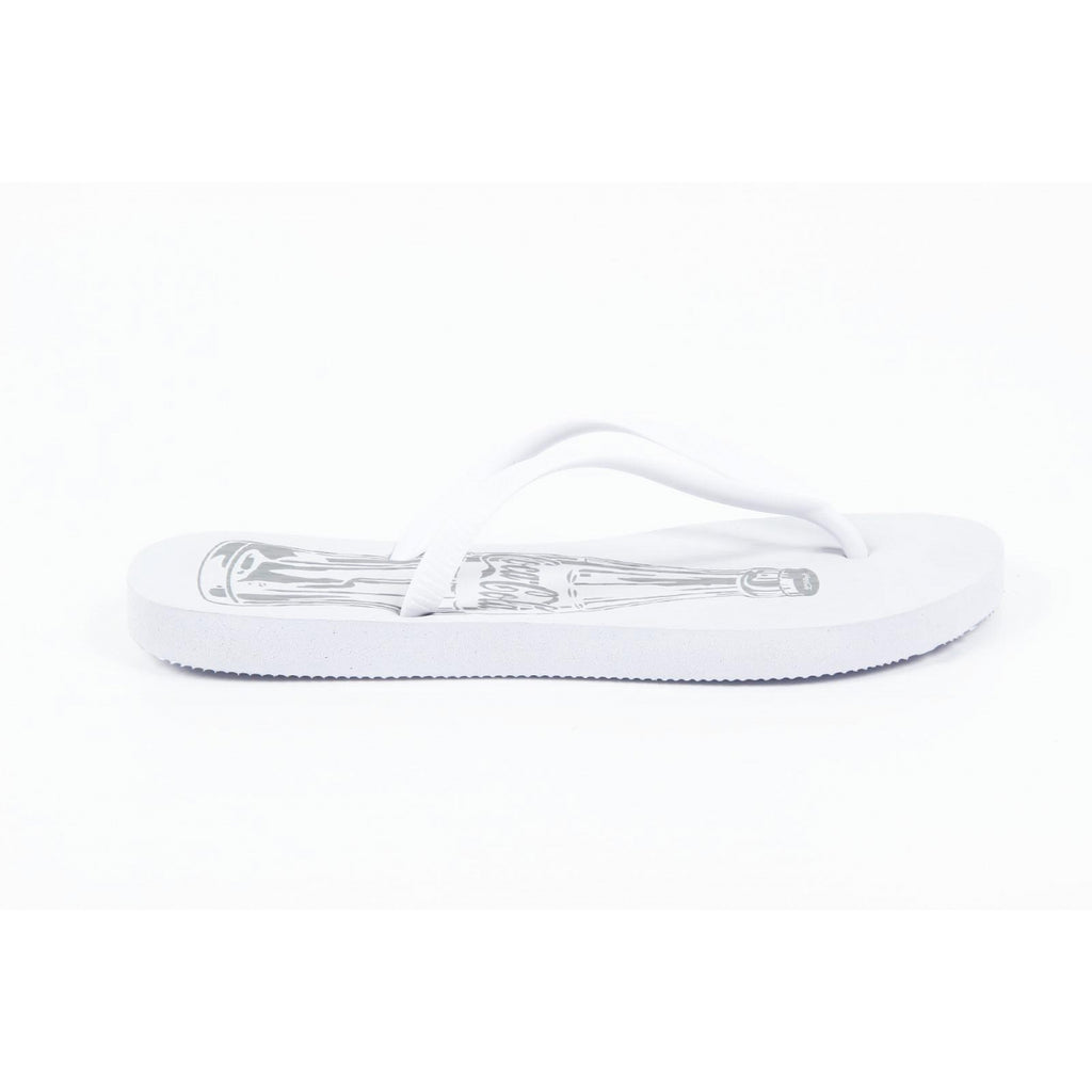 Coca Cola Shoes Women Thongs White - LeCITY