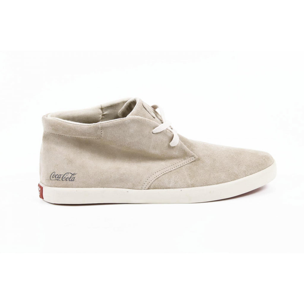 Coca Cola Shoes Men Ankle Beige - LeCITY