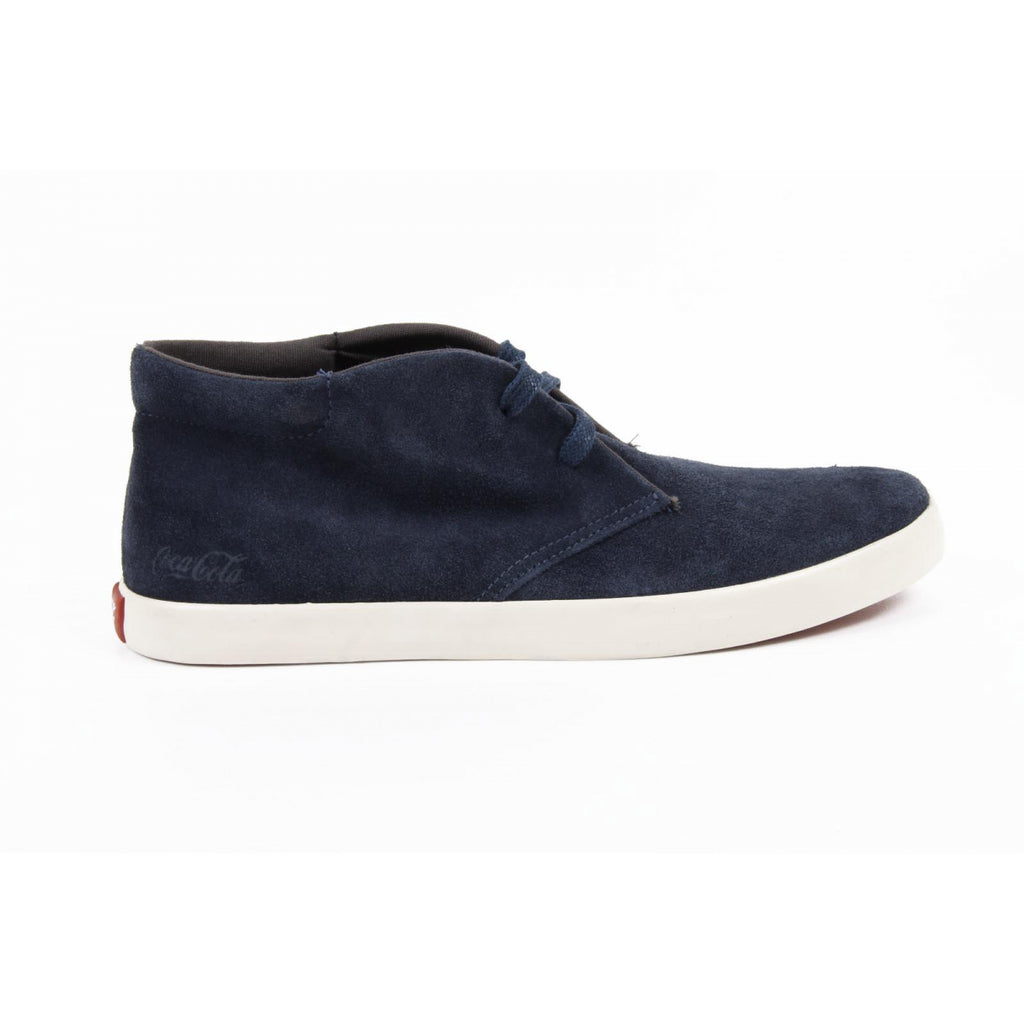 Coca Cola Shoes Men Ankle Dark Blue - LeCITY