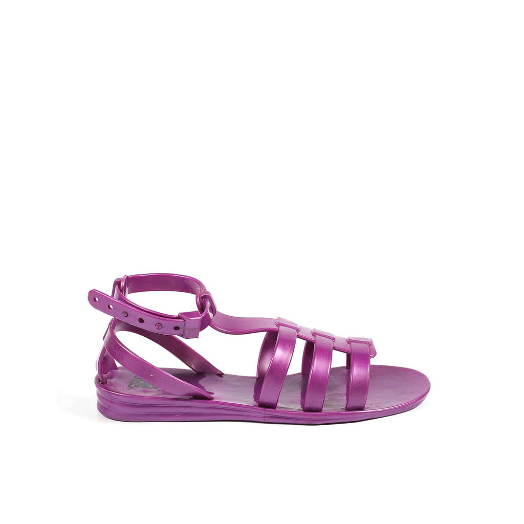 Colors of California Kids Girls Sandals Purple - LeCITY