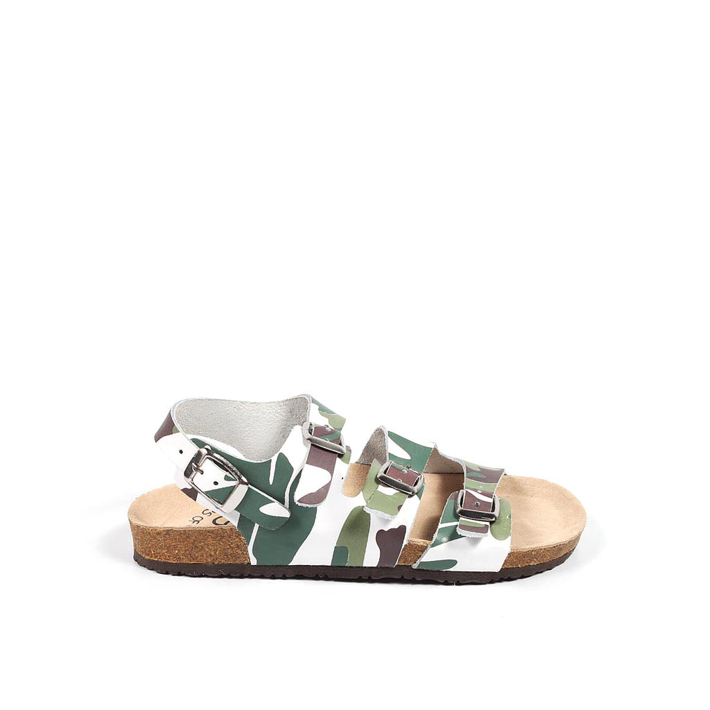Colors of California Kids Girls Sandals Green - LeCITY