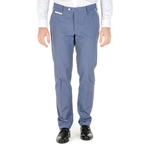 Corneliani Mens Pants Light Blue
