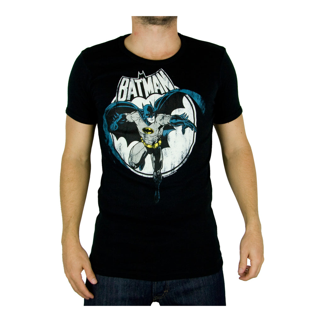 DC Comics mens T-shirt  Batman Moon
