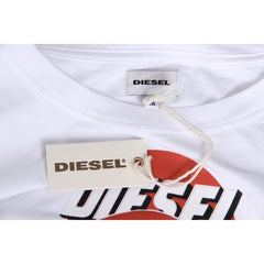 Diesel Mens T-Shirt Short Sleeves Round Neck 00SI7X 0091B 100 T-PALAGIA