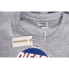 Diesel Mens T-Shirt Short Sleeves Round Neck 00SI7X 0091B 912 T-PALAGIA