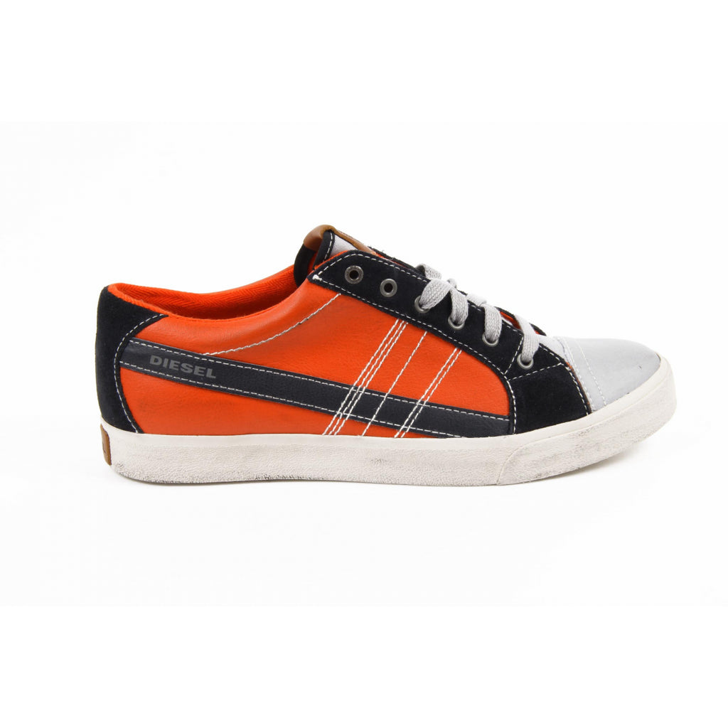 Diesel Shoes Men Sneakers Orange - LeCITY