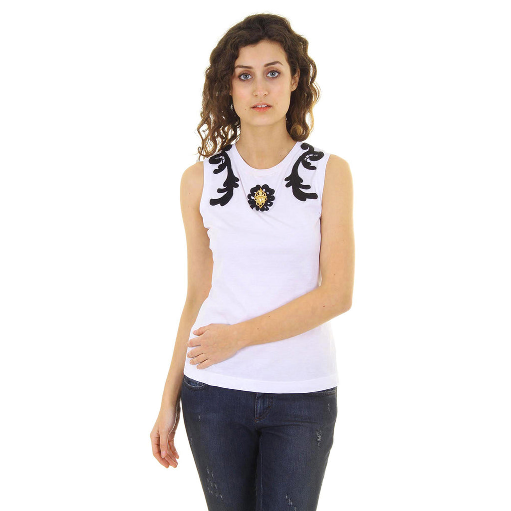 Dolce & Gabbana Women Tanks White - LeCITY