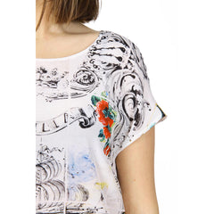 Dolce & Gabbana ladies top short sleeve F7Q08T FP150 X0800