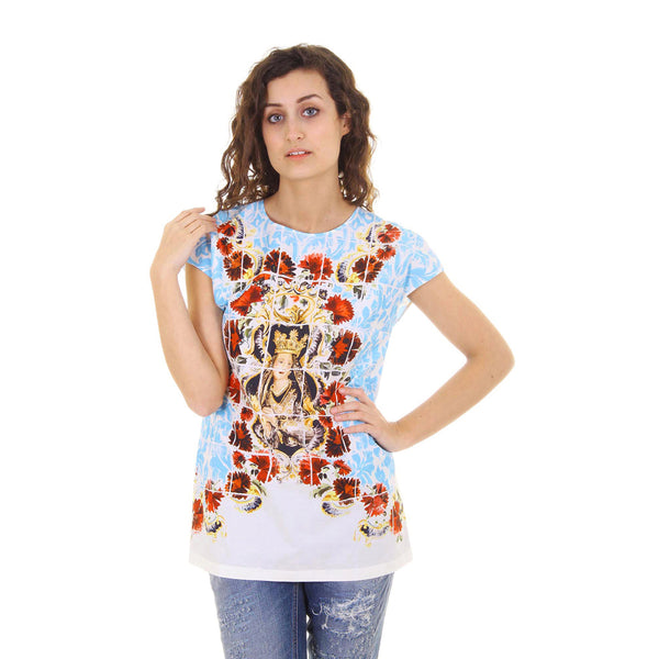 Dolce & Gabbana ladies top short sleeve F7Q08T FP5J6 X0800