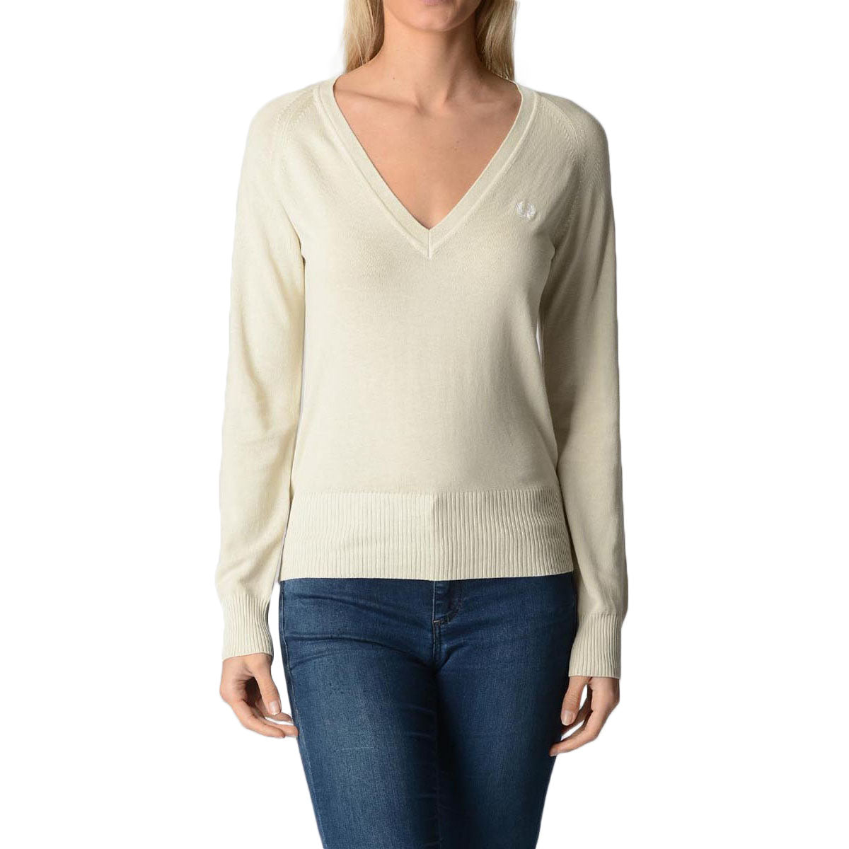 Fred Perry Womens Sweater 31402073 E7001