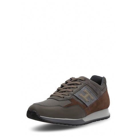 Hogan Mens Sneaker Brown HXM3210Y940HIP9AZE