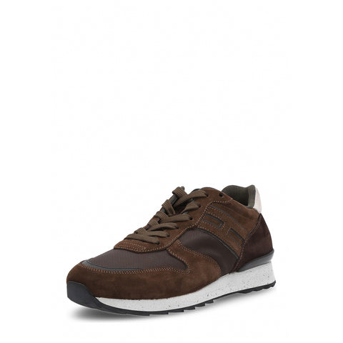 Hogan Mens Sneaker Brown Rebel HXM2610R676HJE780N
