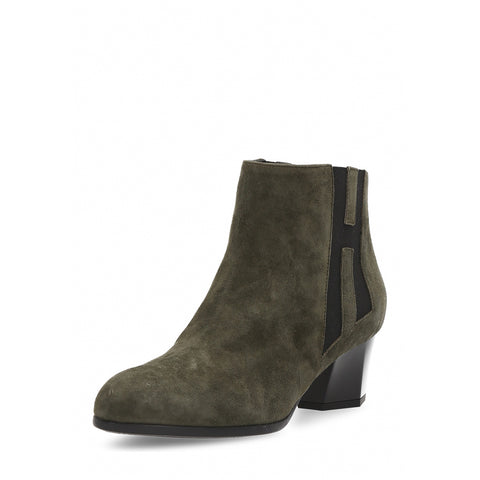 Hogan Womens Ankle Boot Dark Green HXW2370O960CCR0V619