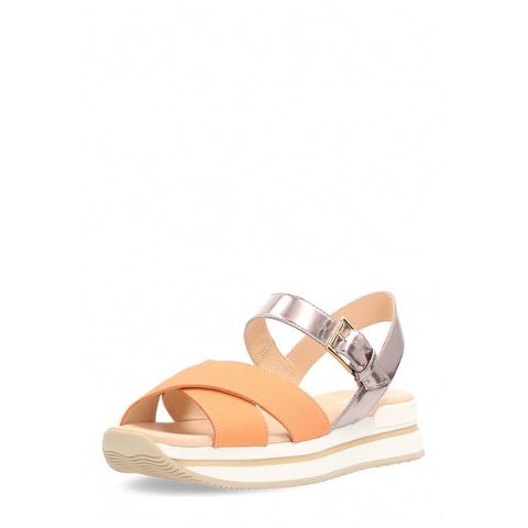 Hogan Womens Sandal Orange HXW2570R14088L10X49