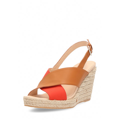 Hogan Womens Wedge Sandal Beige HXW2660R53088IC0X04
