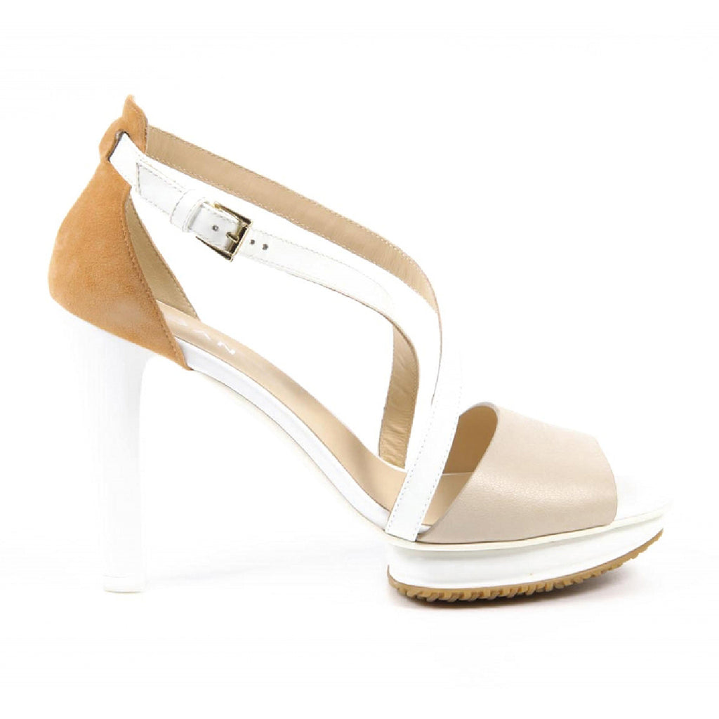 Hogan Shoes Women Sandals Beige - LeCITY