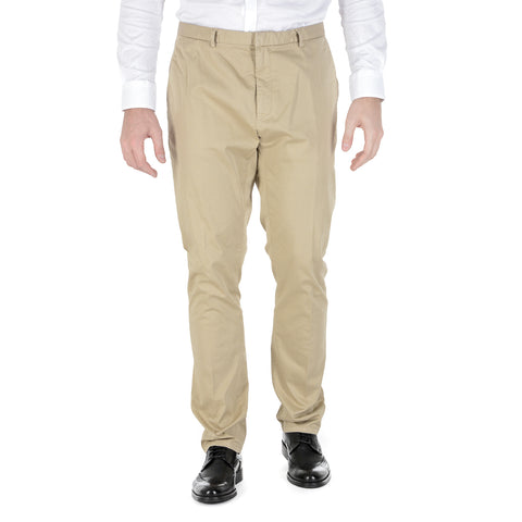 Hugo Boss Mens Pants Beige HELGO